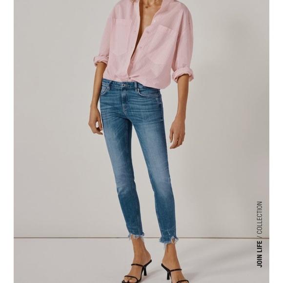 NWT Zara Skinny Breezy jeans